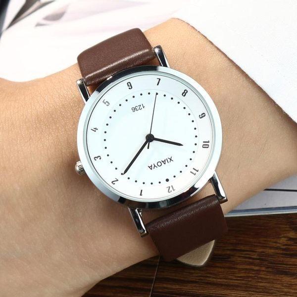 韓國潮流時尚手錶女錶石英錶情侶手錶一對