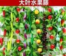 仿真水果藤條葡萄葉假花藤蔓飯店室內吊頂空調管道裝飾品綠植蔬菜 3C優購