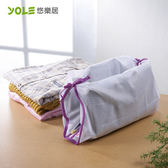 【YOLE悠樂居】綁帶襯衫洗衣袋(4入) #1229009
