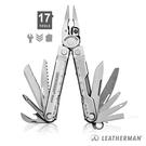 LEATHERMAN 17用工具鉗『銀』 附尼龍套 (贈強力萬用扣鑰匙圈) 831557