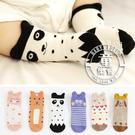 襪子 兒童 韓版 立體 動物 防滑 短襪 BW