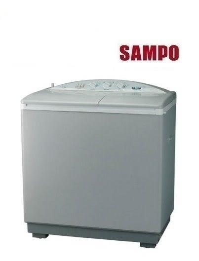«0利率/免運費» SAMPO聲寶 9kg 雙槽半自動洗衣機 ES-900T 【 南霸天電器百貨】