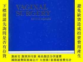 二手書博民逛書店VAGINAL罕見SURGERY. Second edition