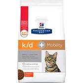 【寵物王國】希爾思k/d+Mobility腎臟護理+關節活動力貓處方6.35磅