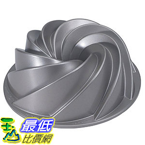 [105美國直購] Nordic Ware Platinum Collection Heritage Bundt Pan 螺旋型蛋糕模 烤盤