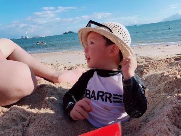 【雙11折300】潛水服兒童男女分體套裝水母衣小中大童