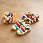 2018夏季新款包頭軟底寶寶男童涼鞋1-3-6歲韓版 JA1210 『美鞋公社』