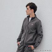 【GIORDANO】男裝G-MOTION品牌LOGO運動外套 - 41 雪花深灰