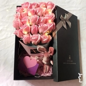 玫瑰香皂花畢業花束禮盒款情人節520送女友閨蜜生日創意禮物