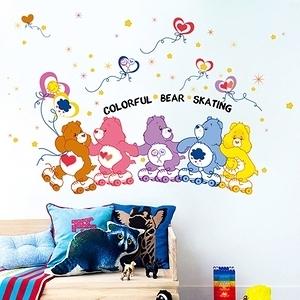 【Loviisa BEAR】無痕壁貼 壁紙