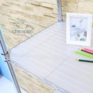 【居家cheaper】層架專用PP板35X60CM-透明白1入/鞋架/行李箱架/衛生紙架/層架鐵架/鞋櫃/衣架