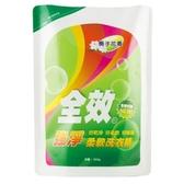 毛寶全效柔軟洗衣精補充包-強淨1800g【愛買】