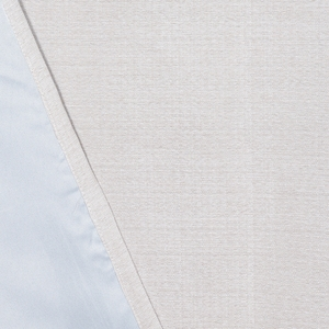 HOLA 素色織紋雙層遮光落地窗簾 270x230cm 米色