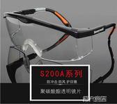 護目鏡 護目鏡防塵防風鏡勞保防飛濺防護眼鏡防風沙透明女騎行防風眼鏡男 第六空間