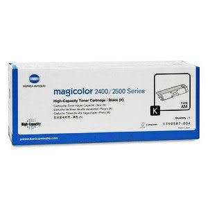 【免運】KONICA MINOLTA 2400W/DL/2480MF 原廠黑色高容量碳粉 型號1710587-004--適用magicolor 2500/2430DL/2400W/2530MF