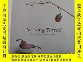 二手書博民逛書店the罕見long thread knit knot stitch weave loop twistY1913