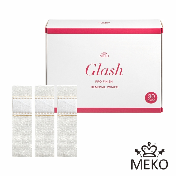 【MEKO】光撩凝膠專用卸甲繃(30入)