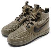 【海外限定】Nike 休閒鞋 Lunar Force 1 Duckboot 17 GS 綠 黑 越野戶外 女鞋 大童鞋【PUMP306】 922807-200