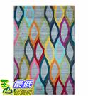 [COSCO代購] W125664 莫爾時尚超現代埃及進口地毯 200x285 公分 - 彩波