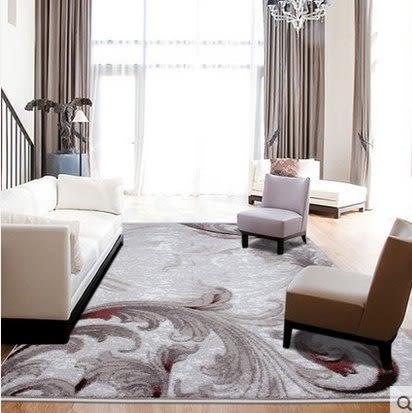 現代簡約時尚 客廳茶几沙發地毯 床邊地毯飄窗大地毯【120cm×170cm】
