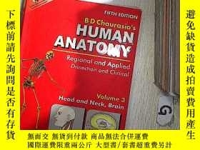 二手書博民逛書店Human罕見Anatomy:Regional and Applied Dissection and Clinic