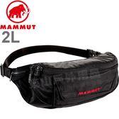 Mammut長毛象 2520-00141-0001黑  多功能隨身腰包-2L Neuveville旅遊防竊包