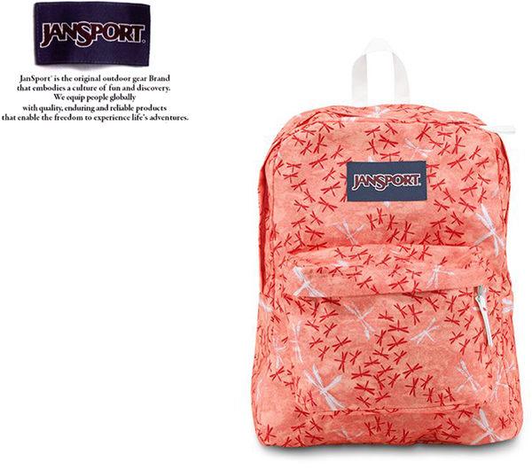【橘子包包館】JANSPORT 後背包 SUPER BREAK JS-43501 小蜜桃