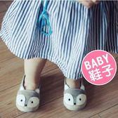 秋季童鞋 男女童鞋 新款帆布鞋 寶寶卡通狐狸 軟底鞋 嬰兒鞋 學步鞋