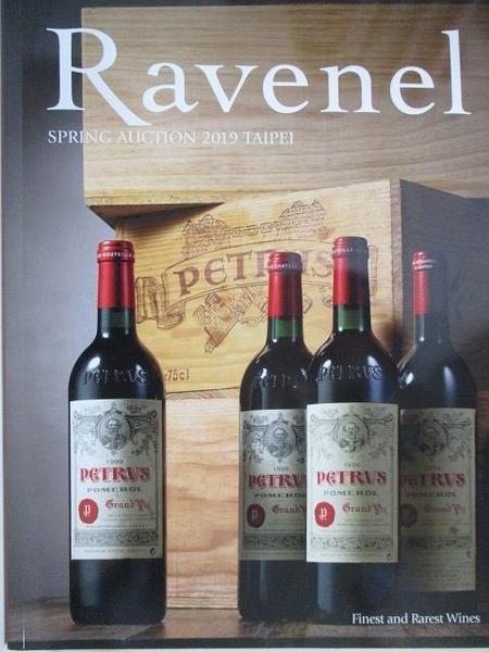 【書寶二手書T8/收藏_DZT】Ravenel Spring Auction 2019 Taipei Finest and…One_2019/5/31