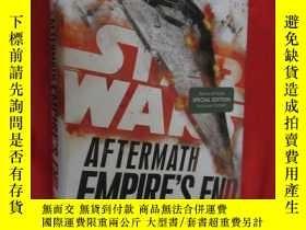 二手書博民逛書店Aftermath:罕見Empire s End (硬精裝) 【