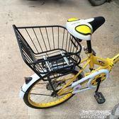 加大自行車后置車筐山地車籃電動寵物籃車婁后座書包買菜框加粗筐igo   傑克型男館