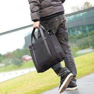 男包新款 簡約時尚款特色潮流手提包 歐美大牌風帆布手提包