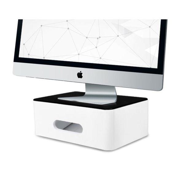 螢幕架 電腦顯示器增高架子辦公室桌面收納盒台式屏幕置物墊高支架底座女【週年慶免運八折】