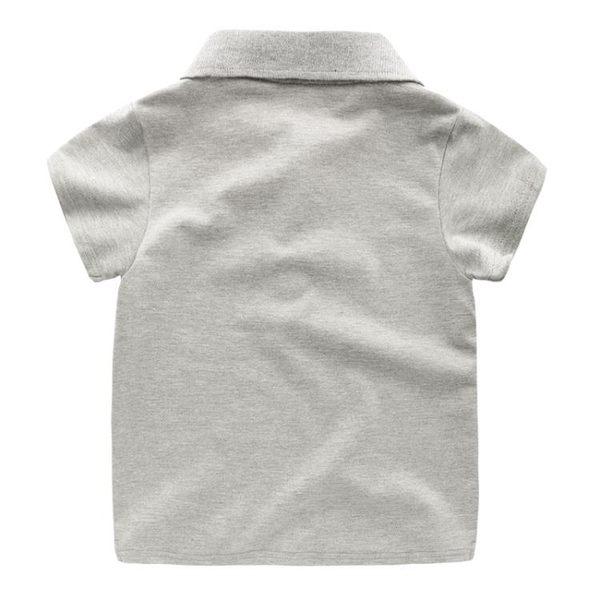黑五好物節 男童短袖POLO衫T恤2018夏裝新款韓版童裝兒童寶寶半袖上衣潮3歲1 東京衣櫃
