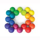 playableART 藝智彩色球-木製創意玩具 比漾廣場