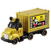 【震撼精品百貨】TOMICA迪士尼小汽車 米奇90週年紀念 貨櫃車-金11411