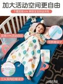 嬰兒被紗布睡袋嬰兒夏季薄款春秋分腿寶寶睡袋兒童防踢被夏天四季通用款【快出】