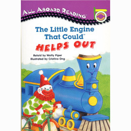 【汪培珽書單】〈All Aboard Reading系列:Picture Reader 〉LITTLE ENGINE THAT COULD HELPS OUT