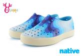 native MILLER 米勒鞋 水鞋 洞洞鞋 蔚藍浪潮 中小童 K9449#藍色◆OSOME奧森童鞋