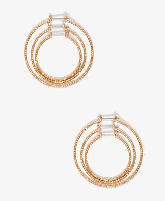 時尚 極簡風 誇張 陽光 單環大耳環 FOREVER21 (3色9款)  B225  / 一對199元 情人節禮物【Vogues唯格思】