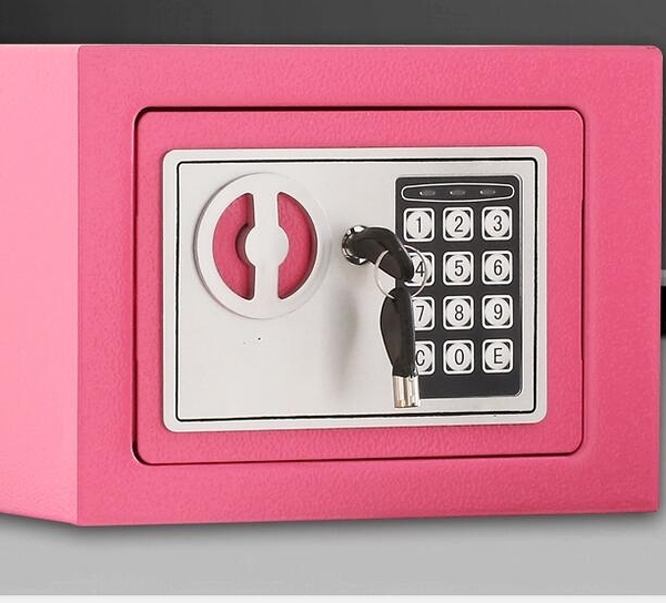小型電子密碼保險箱