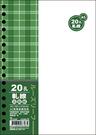 《享亮商城》AO3584 A5 20孔布格紋活頁紙-軋線  美加美