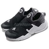 Nike 休閒鞋 Huarache Extreme SE GS 黑 灰 綁帶設計 低筒 女鞋 大童鞋 武士鞋【ACS】 AQ7936-002