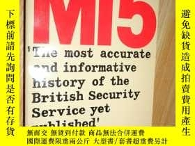 二手書博民逛書店MI5:罕見British Security Service O