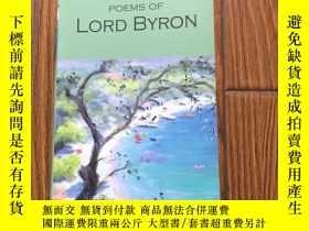 二手書博民逛書店Selected罕見Poems of Lord ByronY22