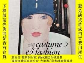 二手書博民逛書店Costume罕見and fashion: A Concise History(32開)見圖Y13882 見圖