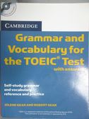 【書寶二手書T8/語言學習_YBZ】Cambridge Grammar and Vocabulary for the T