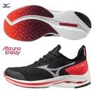 MIZUNO WAVE RIDER 24 NEO 女鞋 慢跑 ENERZY 襪套 G3大底 黑粉【運動世界】J1GD207802