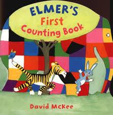 【幼兒基礎認知:數數】ELMER'S FIRST COUNTING BOOK / 硬頁書