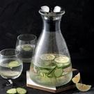 北歐冷水壺丹麥風耐高溫透明玻璃壺家用大容...